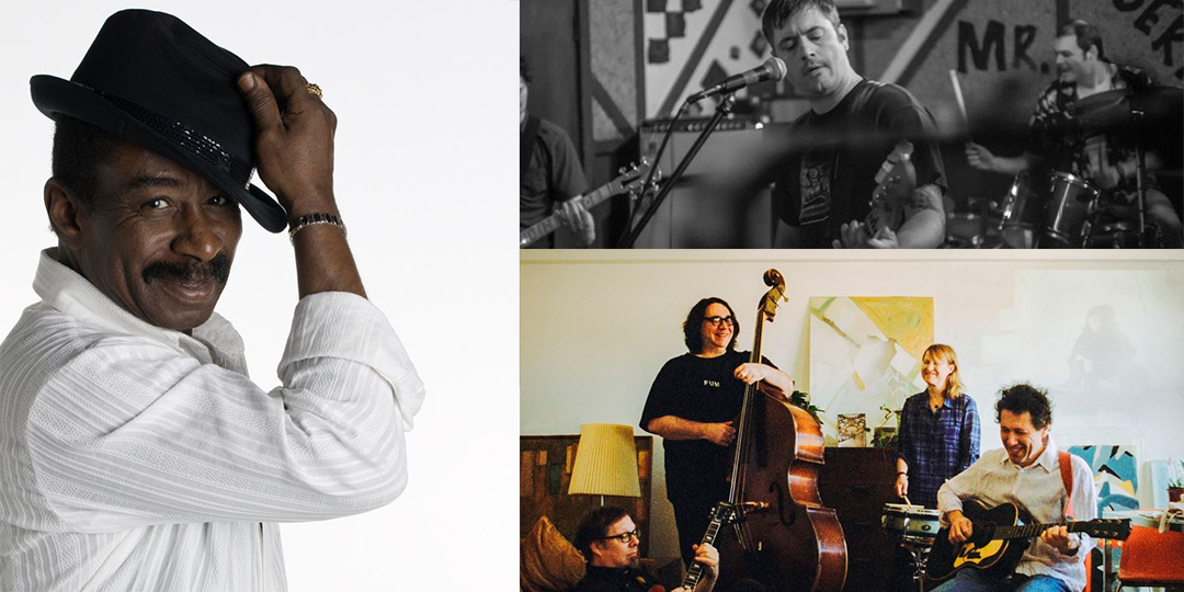 Clockwise from left: A benefit for Charlie Brooks at the Knuckle Down Saloon on November 8, Sinking Suns at Mickey's on November 6, and Yo La Tengo play the Barrymore on November 6.