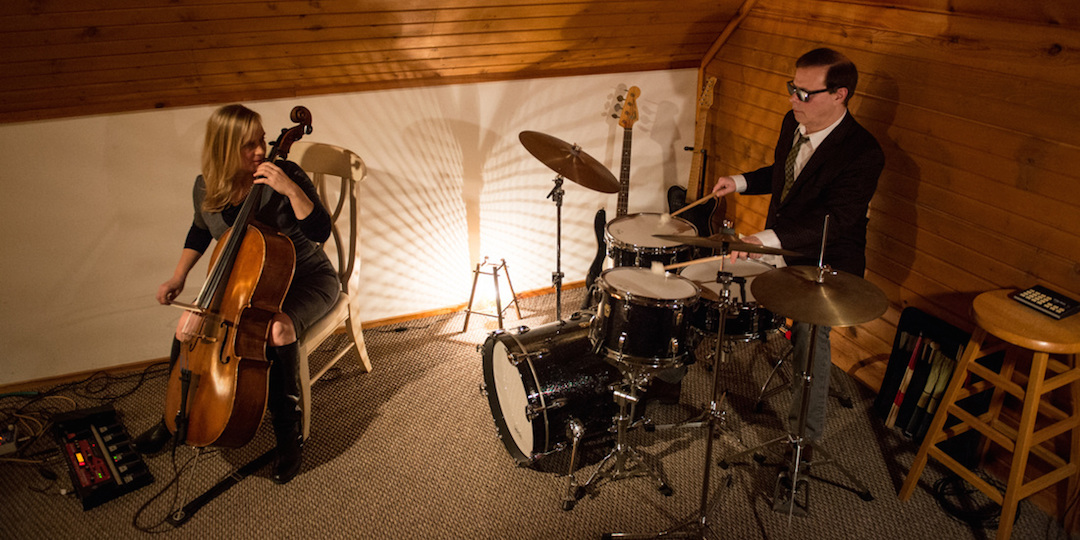 Janet Schiff and Victor DeLorenzo. Photo by Doug Seymour.