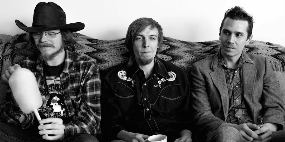 Wood Chickens are, from left to right: Griffin Pett, Alex Reilly, and Justin Johnson. Photo by Rachel Virnig.