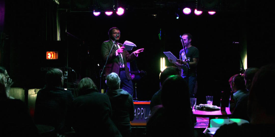 Alan Talaga (left) and Ben Taylor perform at The Dan Potacke Show at The Frequency.