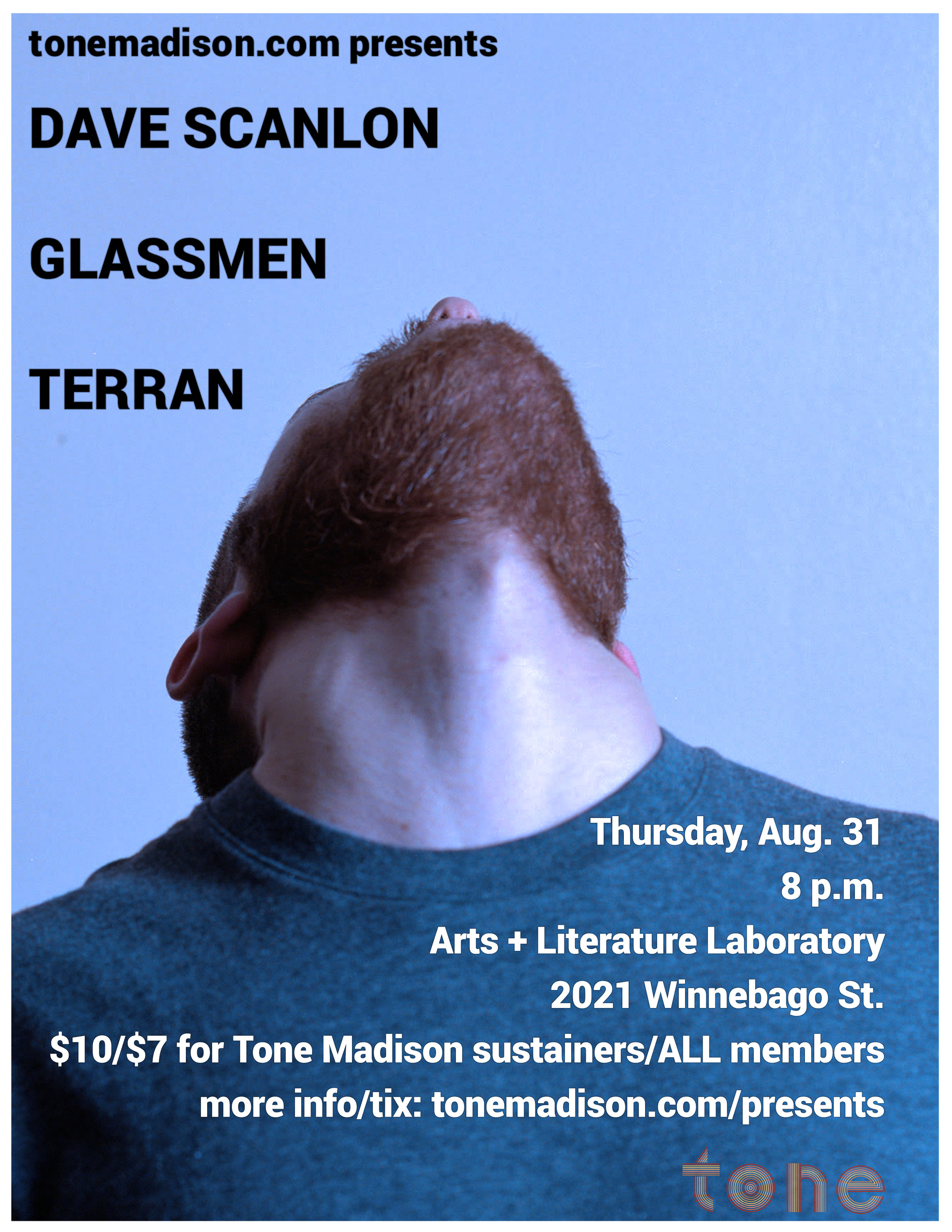 8/31/2017: Dave Scanlon, Glassmen, Terran
