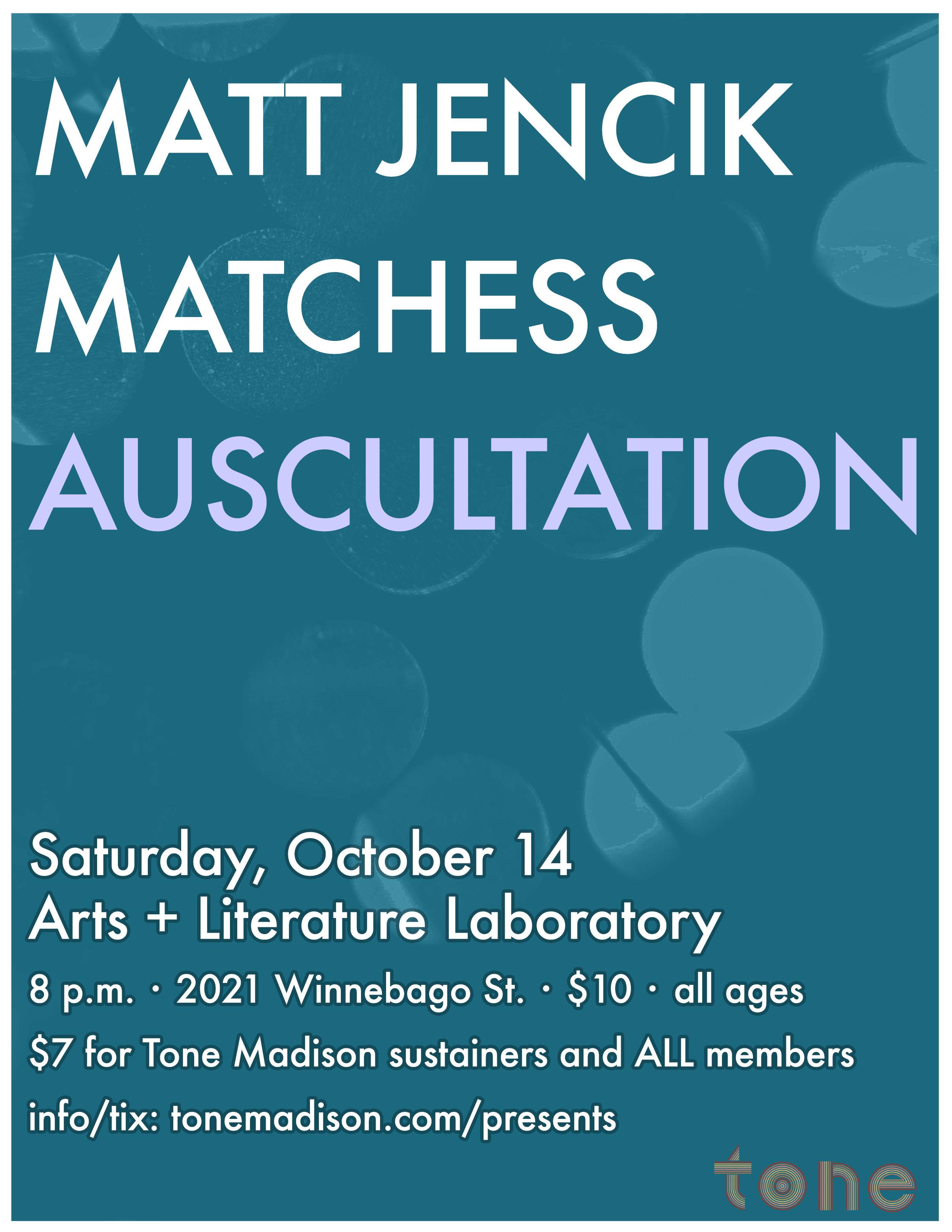 10/14/2017: Matt Jencik, Matchess, Auscultation