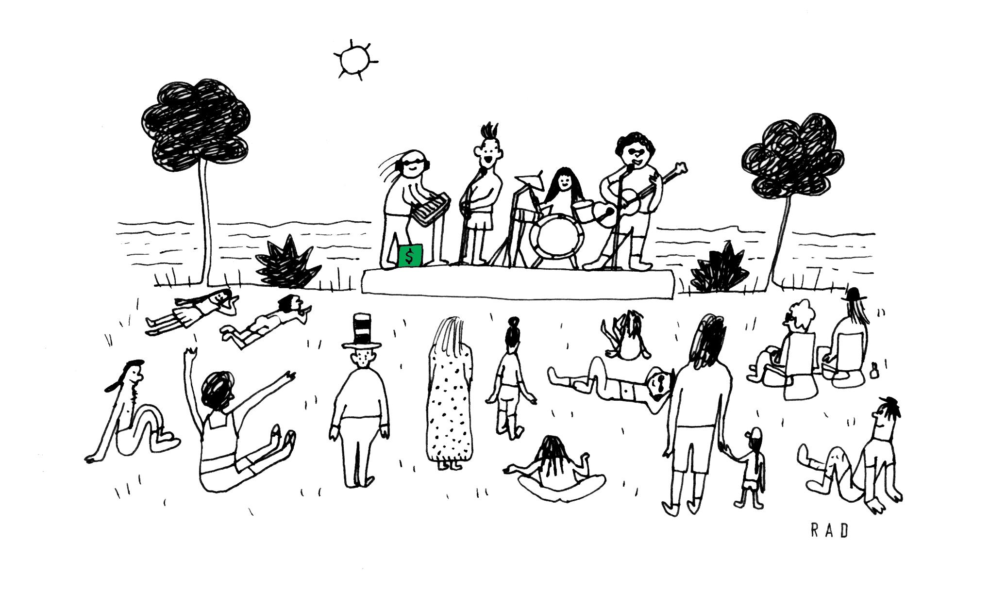 Illustration by  Rachal Duggan .