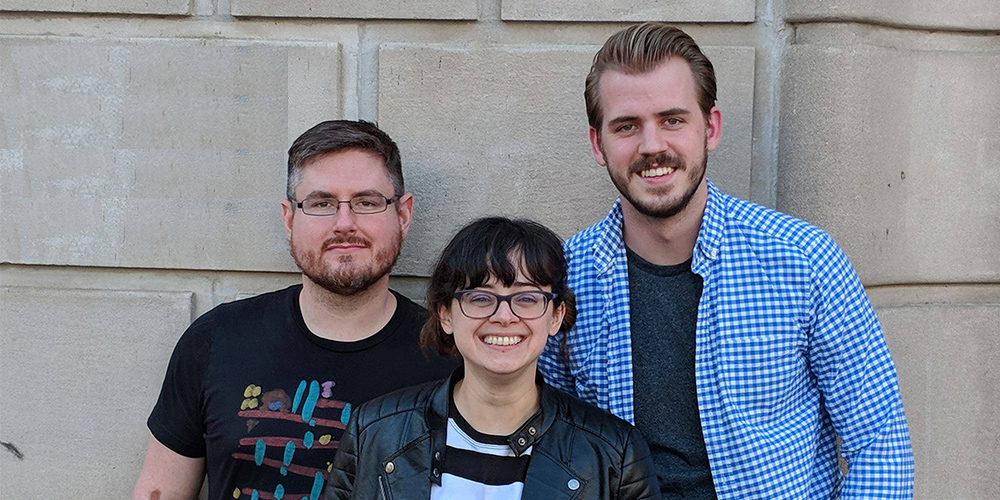 The organizers of Madison Comedy Week.