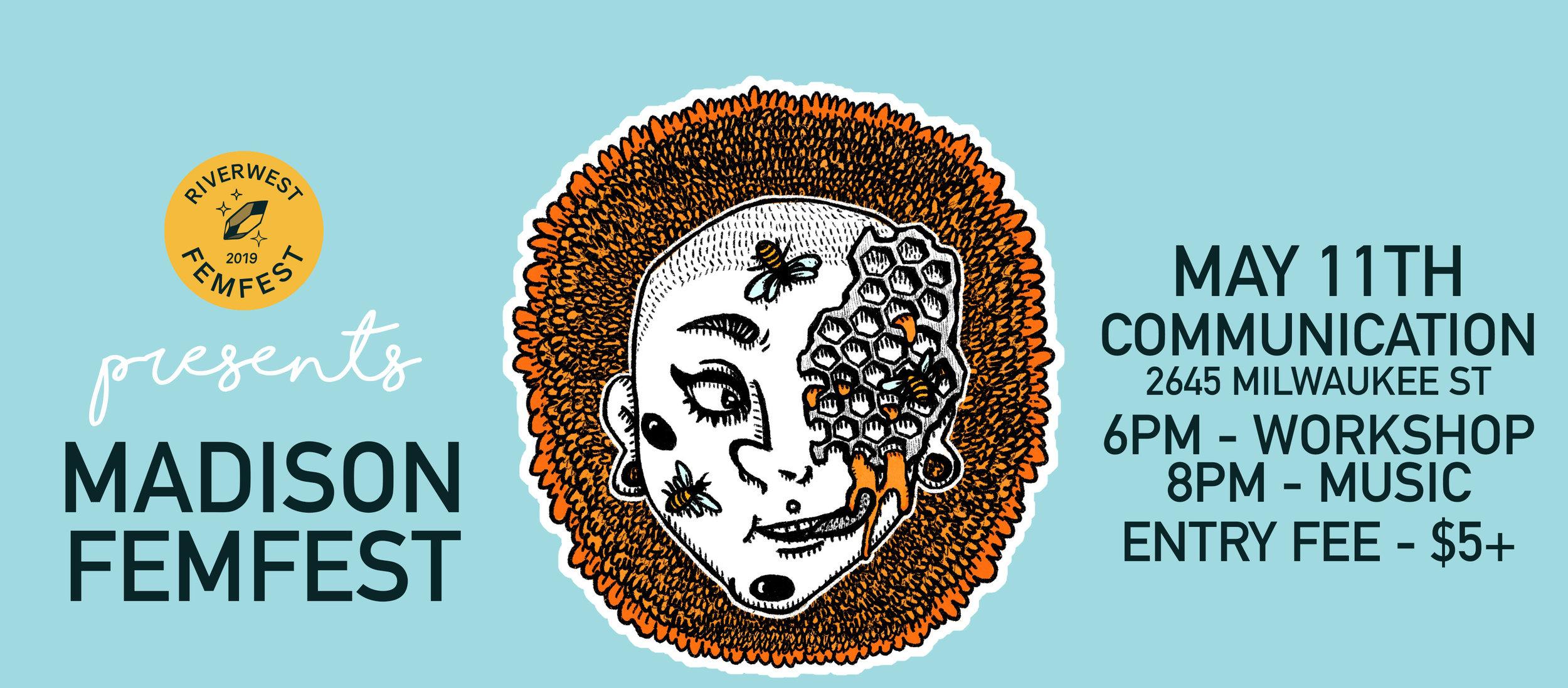 FemFest poster by T.L. Luke.