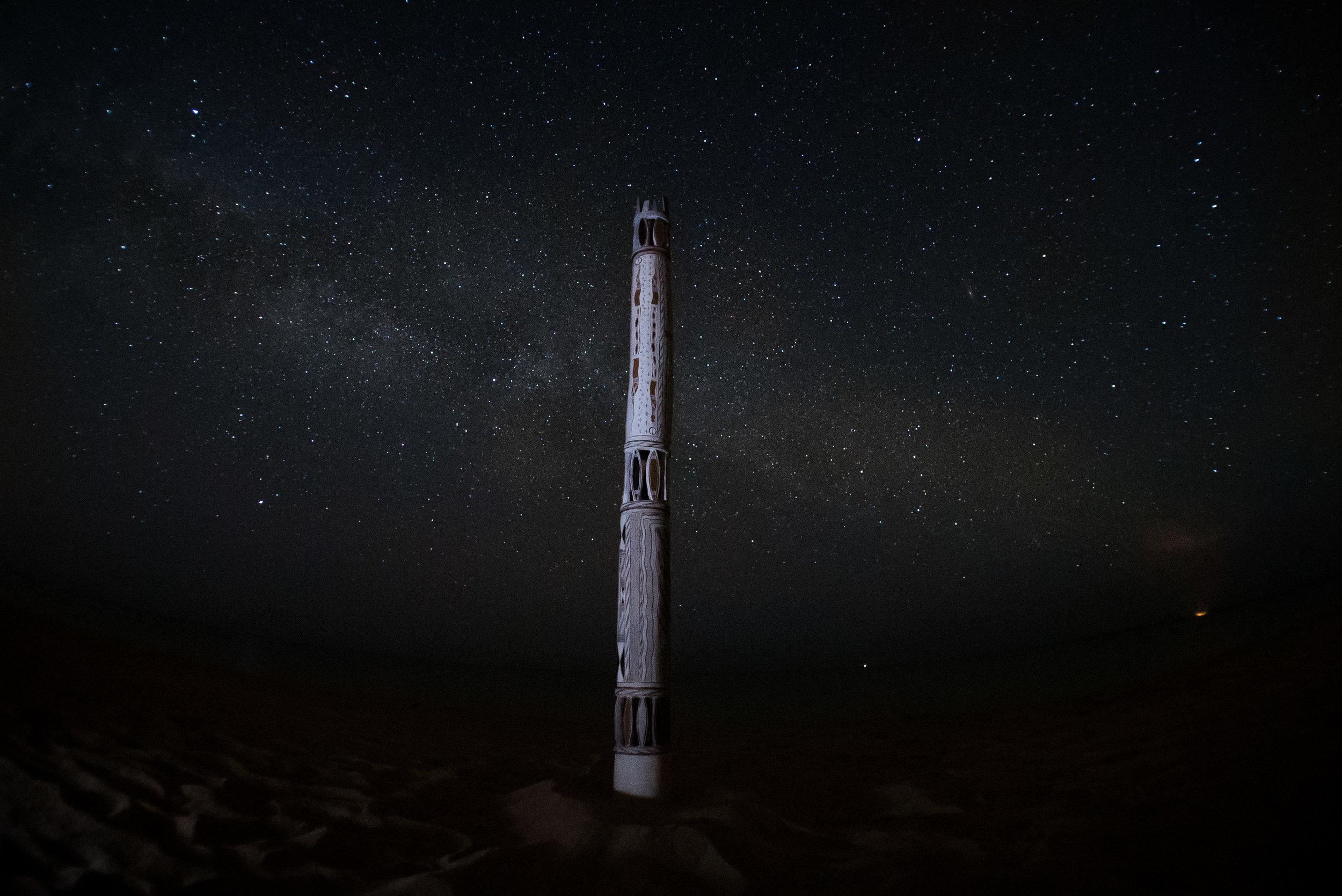 Ceremonial Pole, Yirrkala