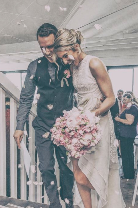 """""""the perfect choice as our wedding photographer."""" - Valentina was a dream to have around on our wedding day. Her work went far beyond our original vision.-C & T"""