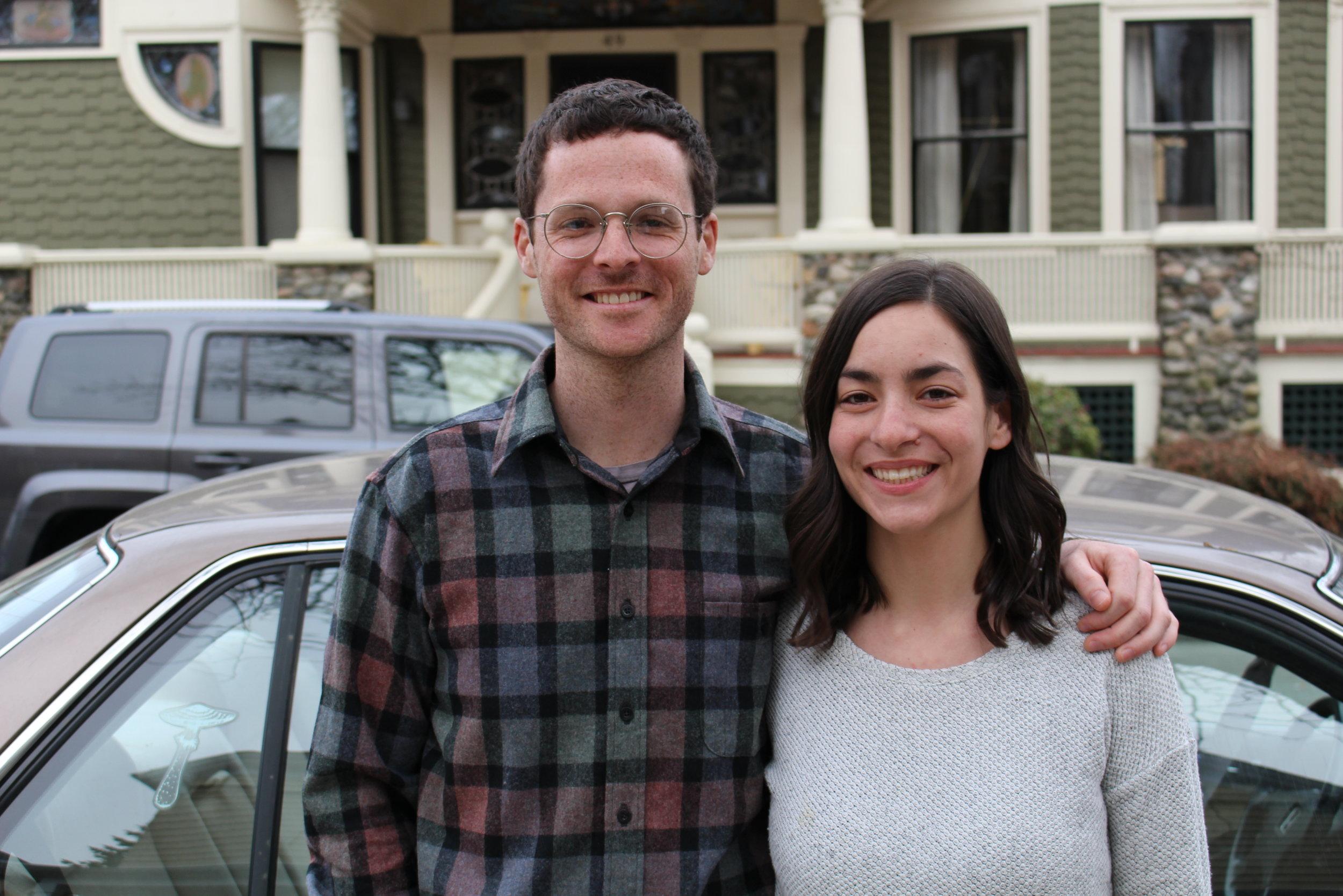 Ben Ewen-Campen and his wife Alex