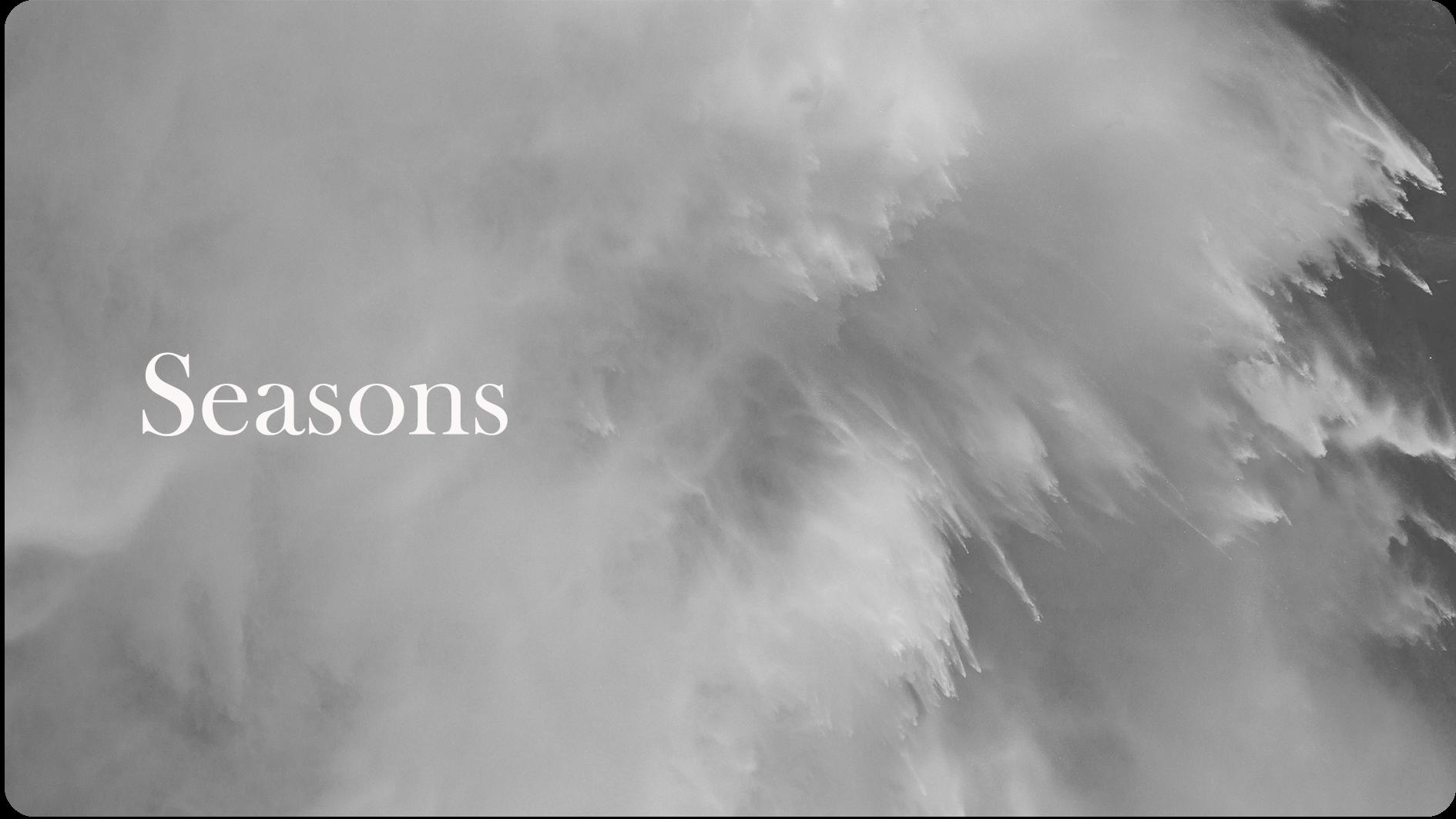 3.  Seasons | 21.01.18