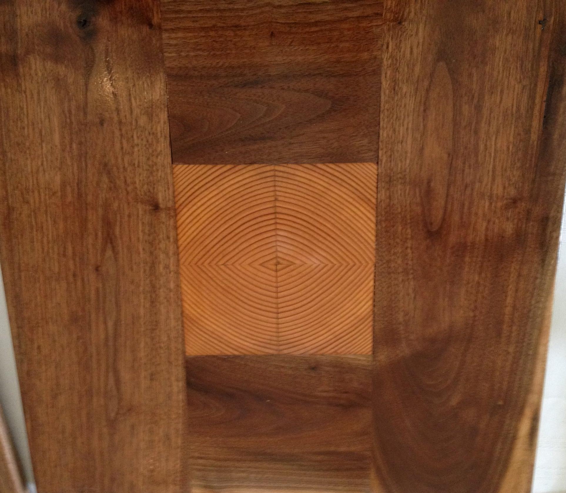 * Sold - bullseye cutting board