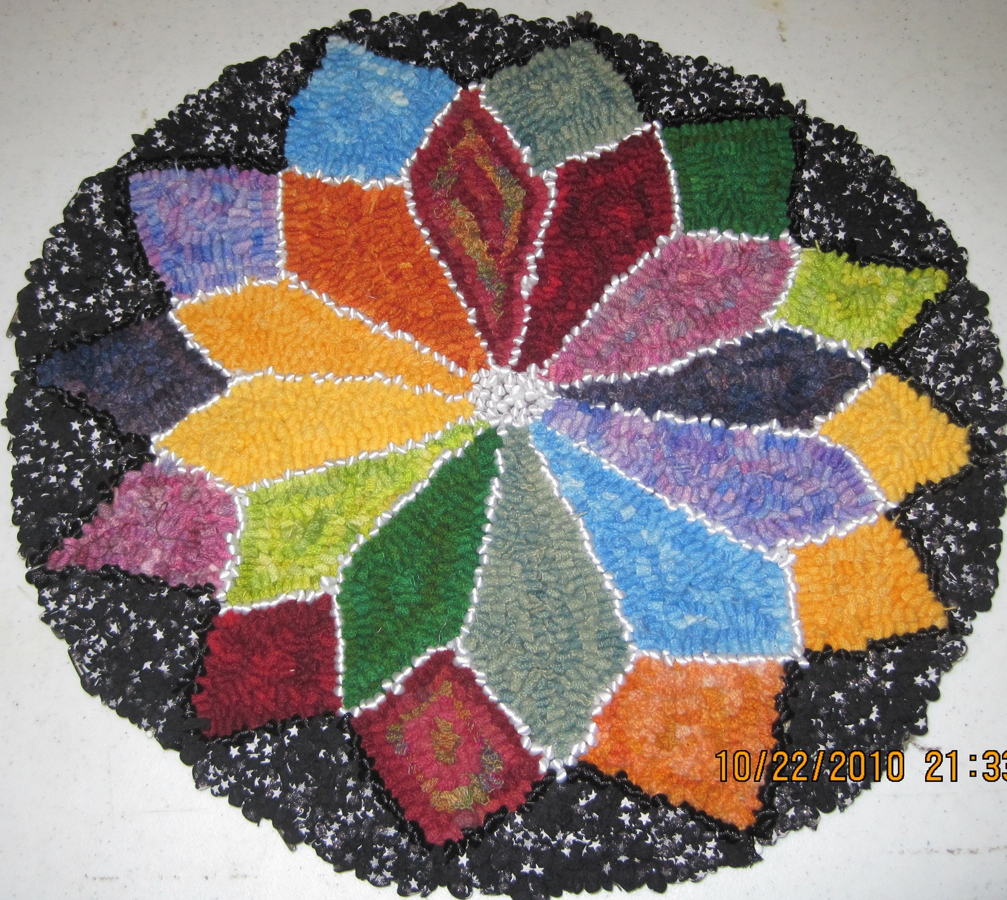 Dad's Rainbow Star *created as an exchange art project