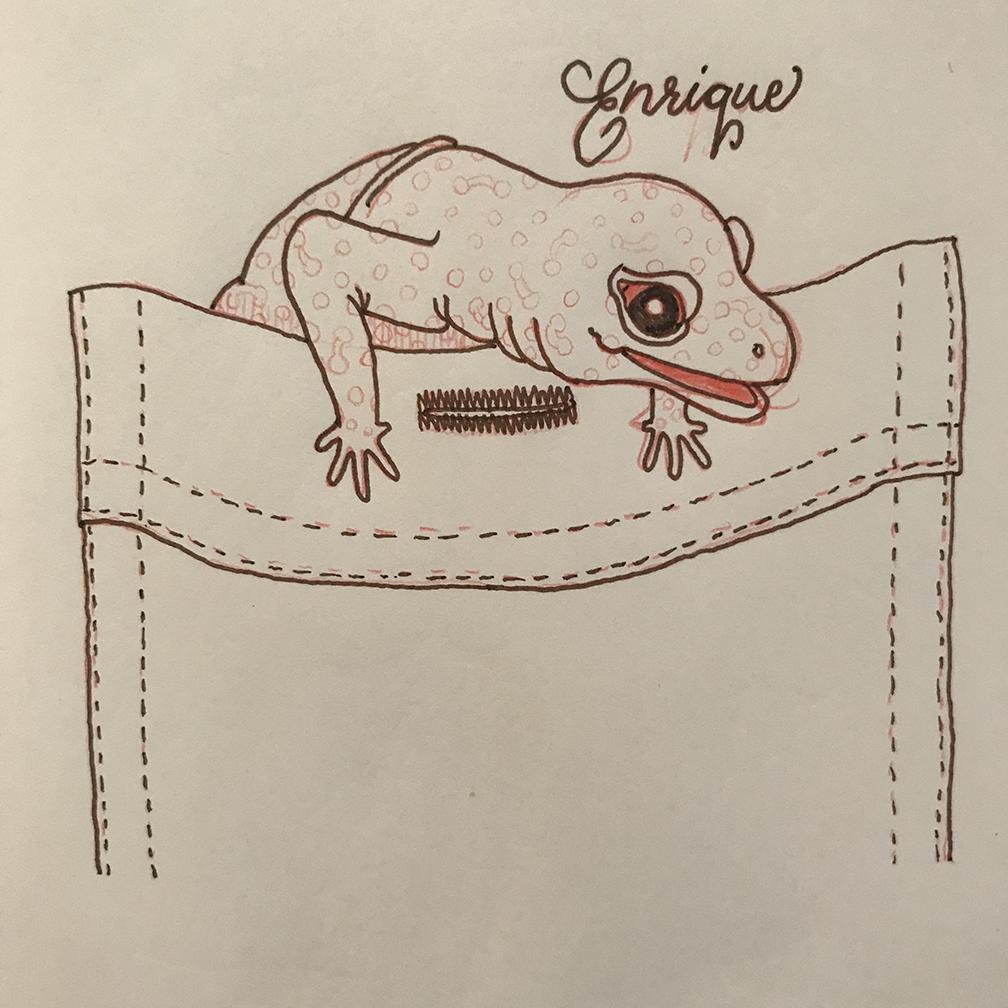 Portrait of Enrique