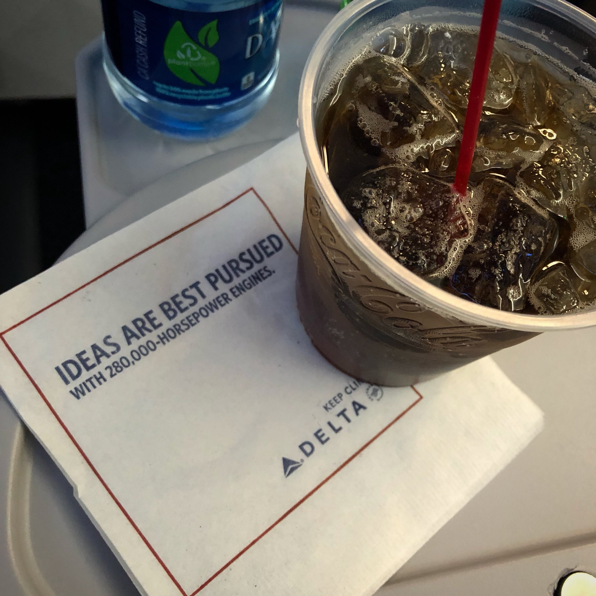 Flying our WINNER - To Nashville on Delta.
