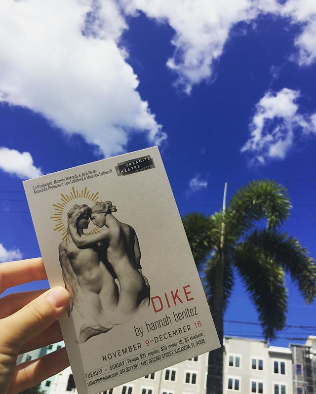 First day in Sarasota & I already can tell how special this process is going to be 💕✨ link in bio for tickets! #diketheplay #allfemalecast #dike #urbanitetheatre #newplays #srq