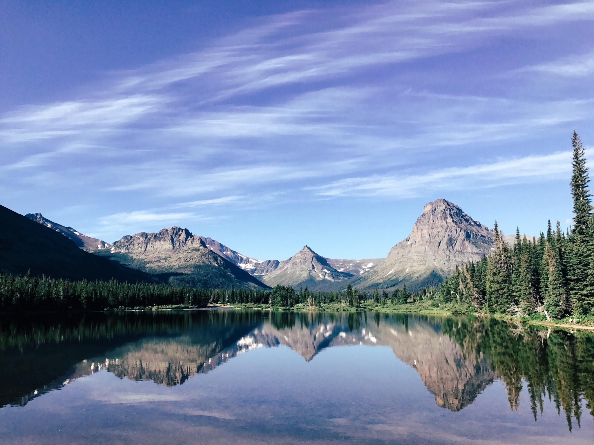Two Medicine Area in Glacier National Park