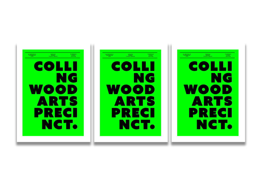 Branding proposal for the Collingwood Arts Precinct