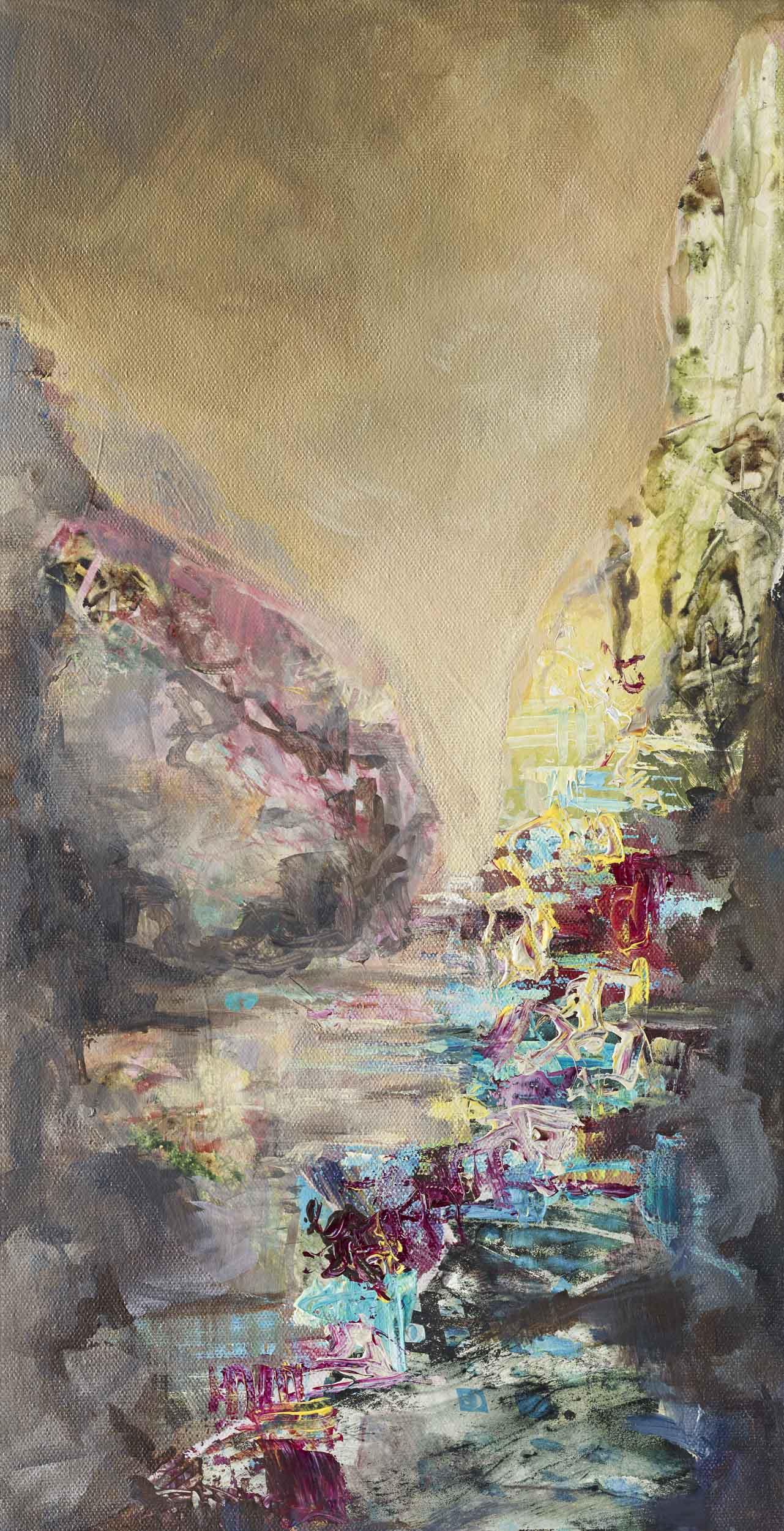 Cascade by abstract artist, Amy Tillotson, Saint Paul, Minnesota, St. Paul Artist, Minnesota Artist, Abstract Artist from Saint Paul, Minnesota, Minnesota artist