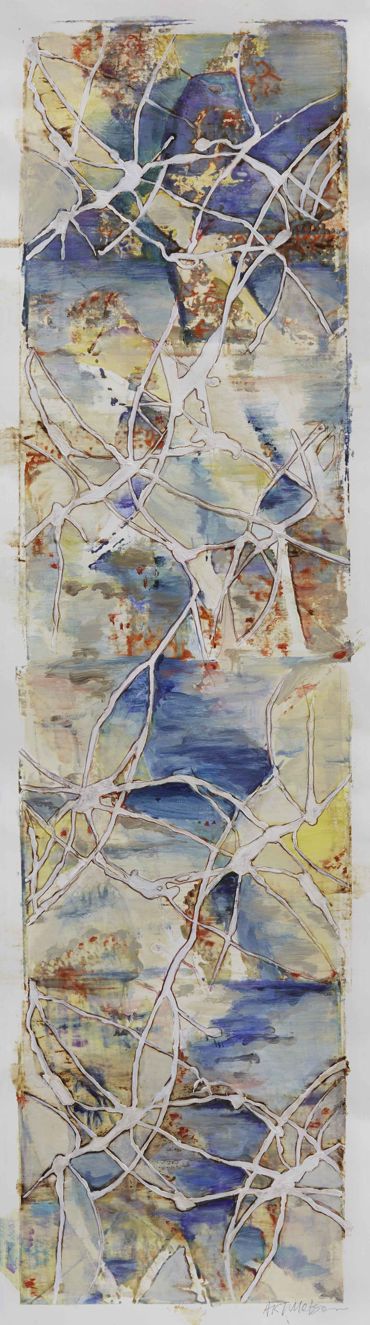 Chasing the Stream by St. Paul, MN multimedia artist, Amy Tillotson