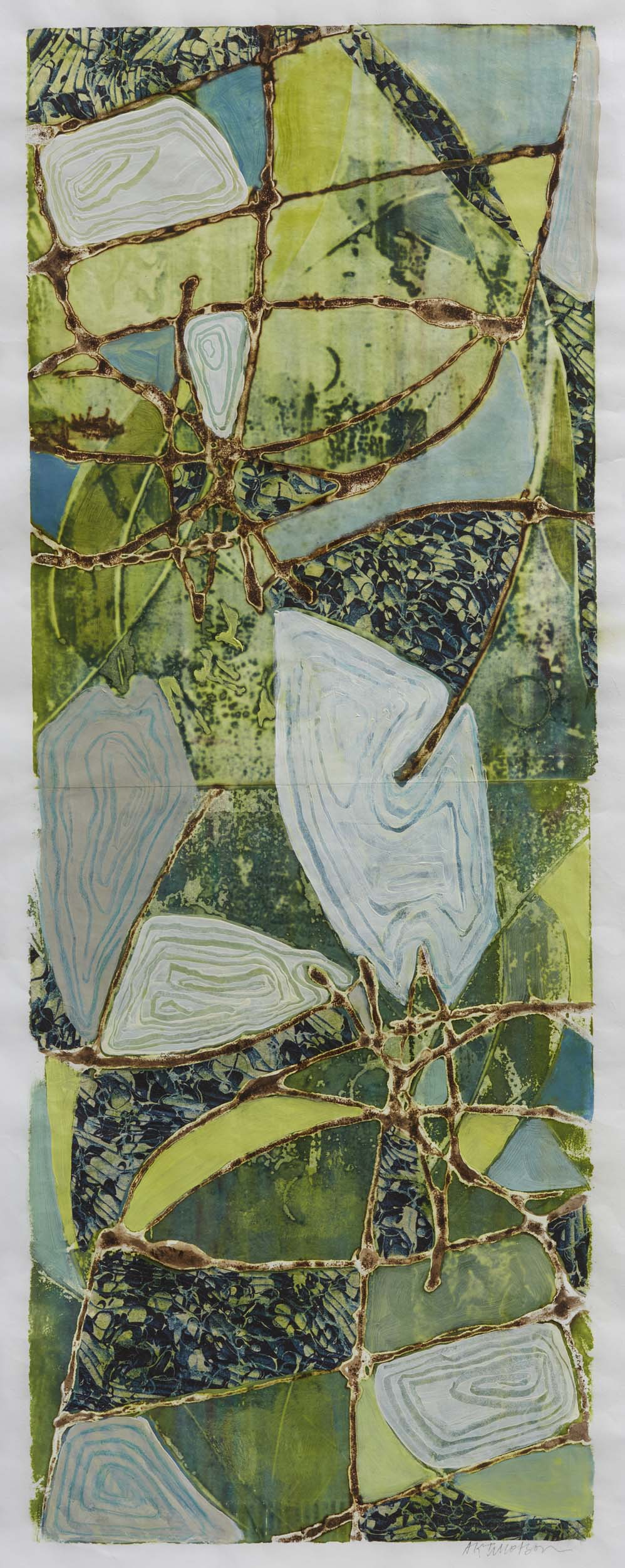 Verdant Fields by St. Paul, MN multimedia artist, Amy Tillotson