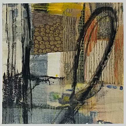 Natural Loop by St. Paul, MN, mixed media artist, Amy Tillotson