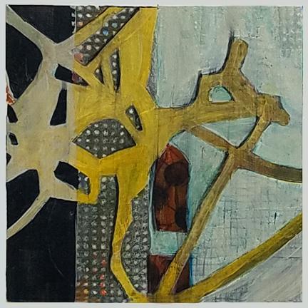 City Pulse by St. Paul, MN,  mixed media artist, Amy Tillotson