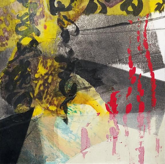 Flicker by St. Paul, MN, mixed media artist, Amy Tillotson