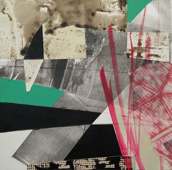 Drawbridge by St. Paul, MN, mixed media artist, Amy Tillotson