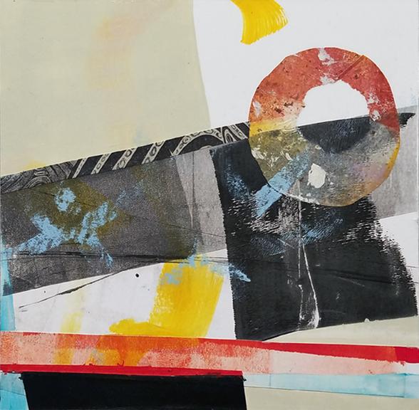 Dunkin by Amy Tillotson, Saint Paul, Minnesota mixed media artists