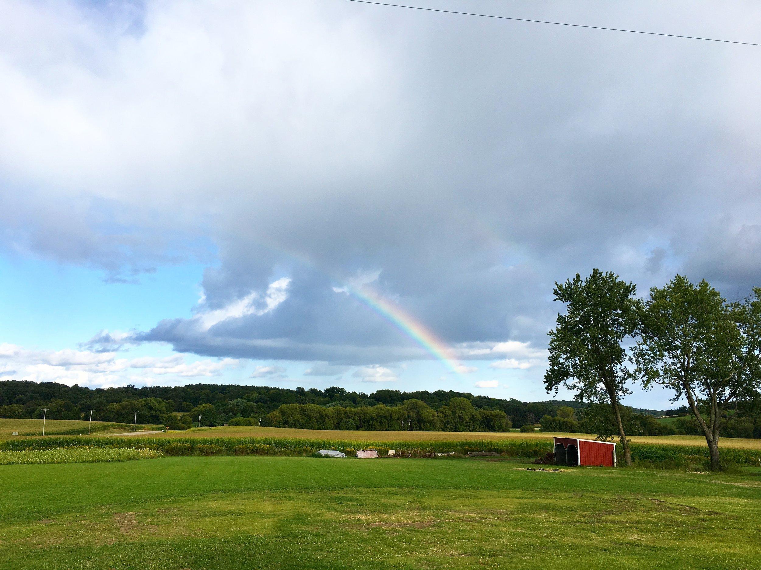 Al's 60th Birthday Rainbow