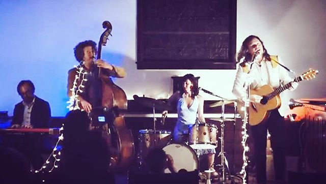 """We were fortunate to have our new friend @simonguyomard shoot a live video of """"Good Luck"""" last night, youtube link in in our bio. Check it out, and take a peep at Simon's other videos as well, they're amazing! #live #goodluck #newfoundfriends 📽: Simon and Handayani Guyomard, sound by @edmattiuzzi"""
