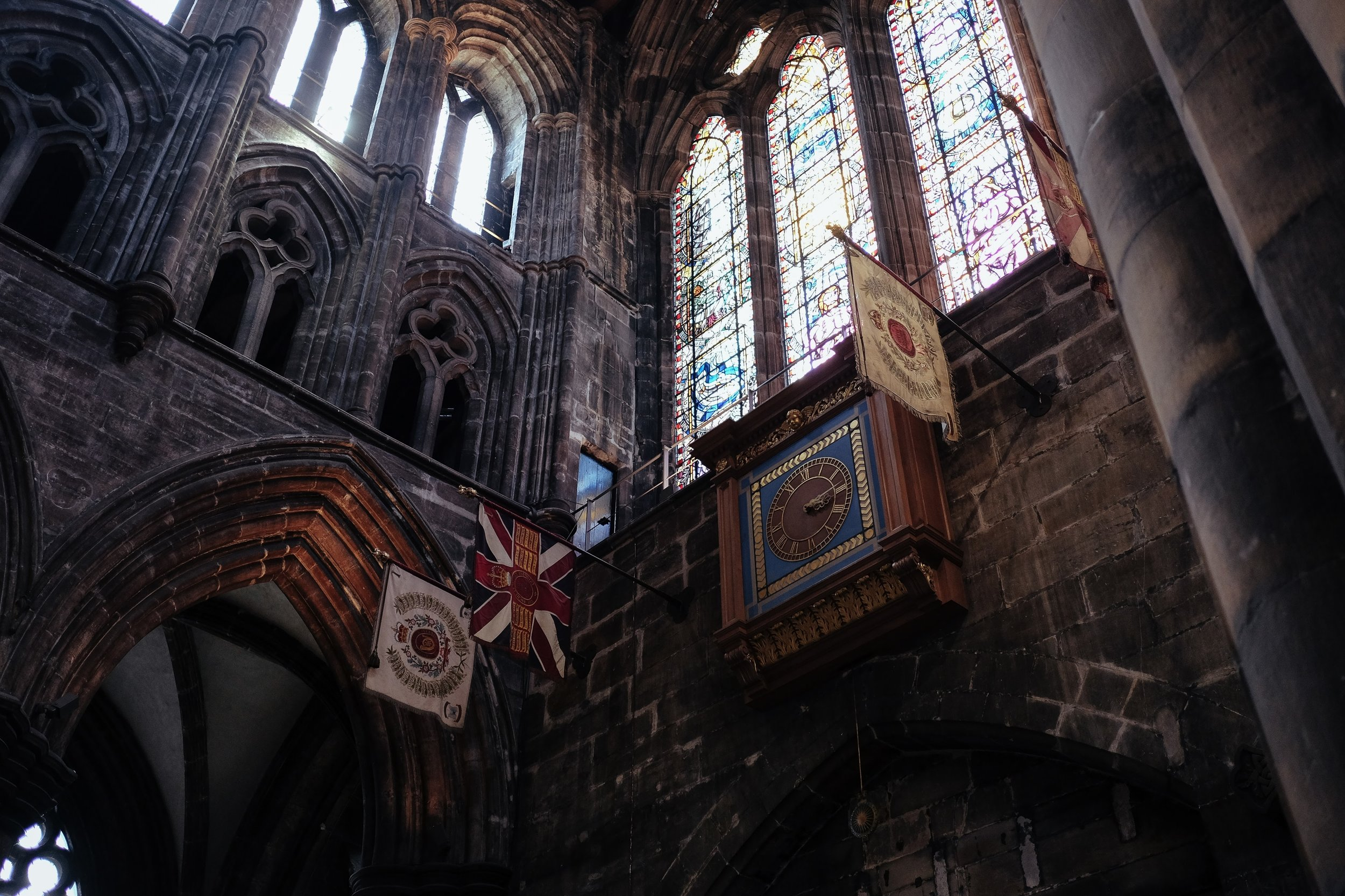 Day 2 Glasgowto Stirling - Glasgow Cathedral