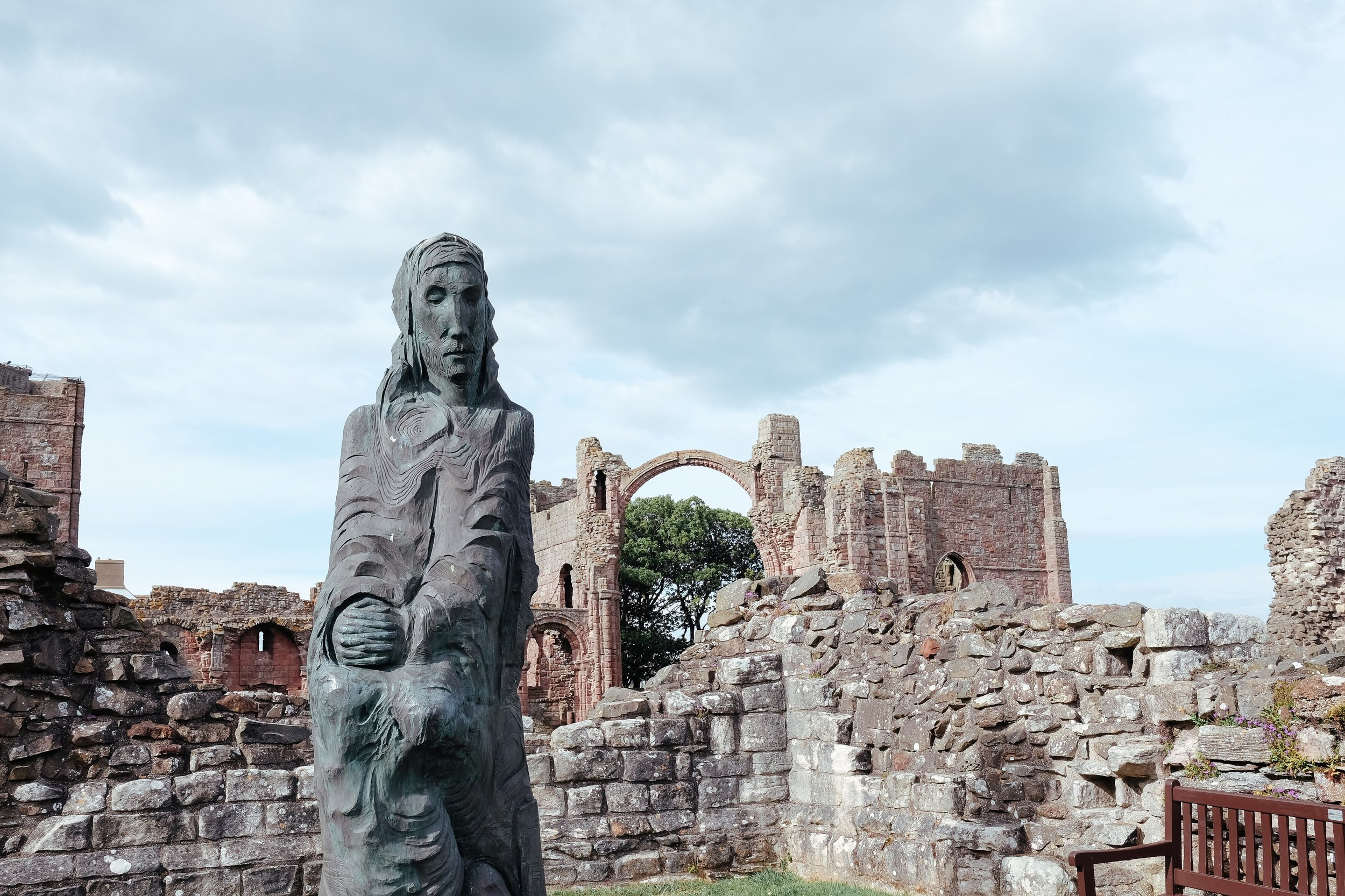 Day 9 Edinburgh to Shilbottle - National Museum of Scotland > Lindisfarne