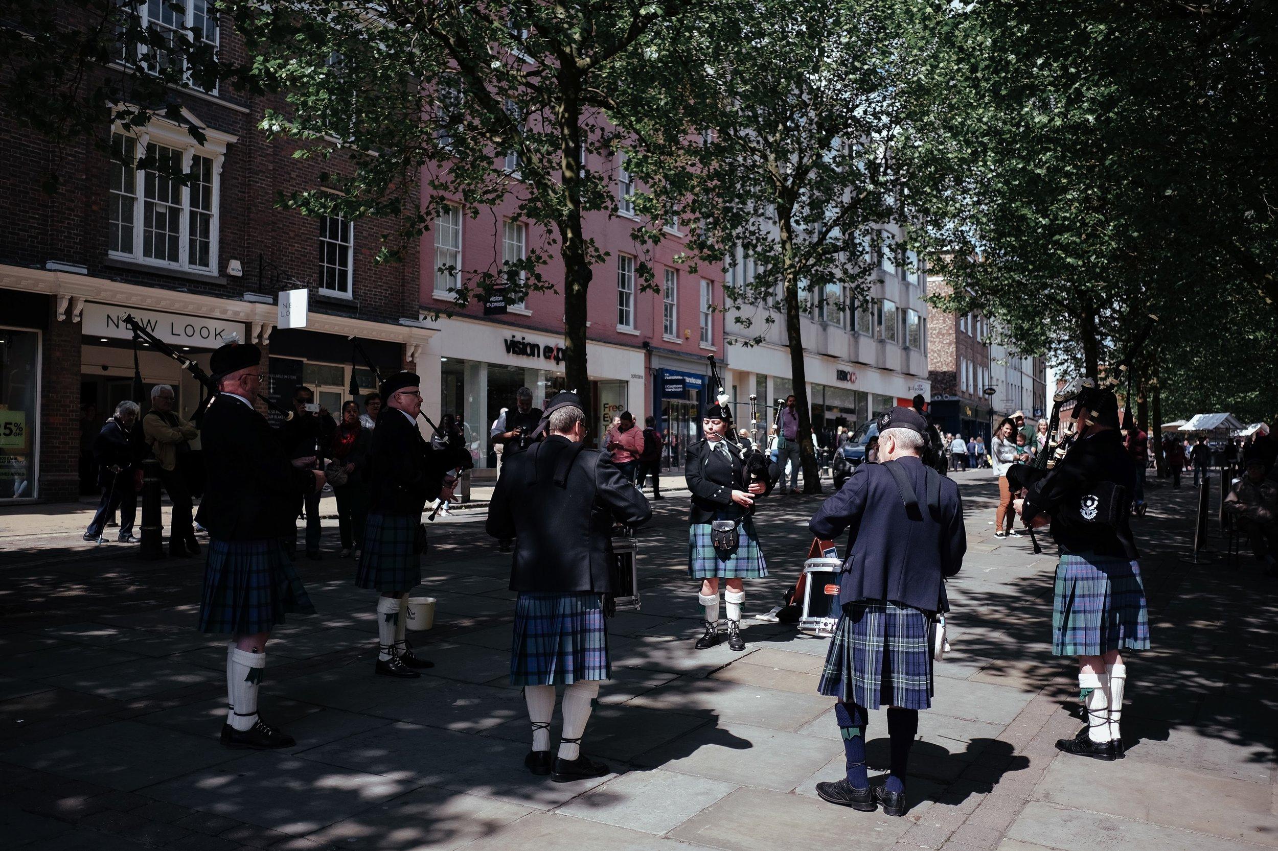 Day 11 Yorkto Manchester - York Shambles Market > York Minster > MediaCityUK