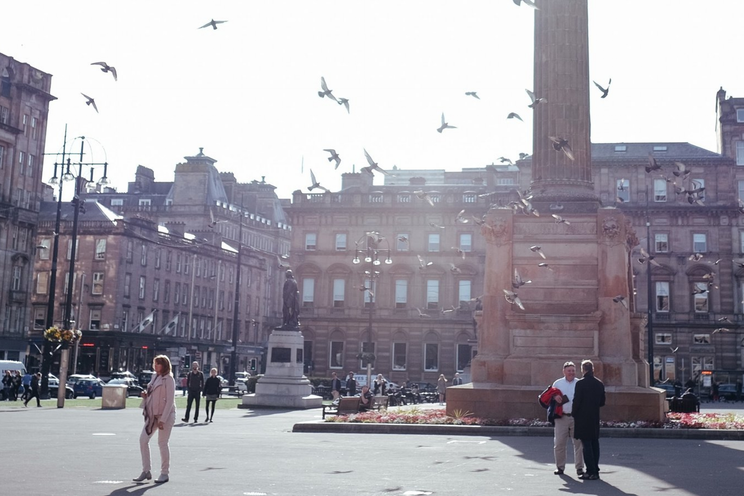 Day 1 Glasgow - The Lighthouse > Buchanan St, Argyle St, Merchant City> George Square > City Chamber