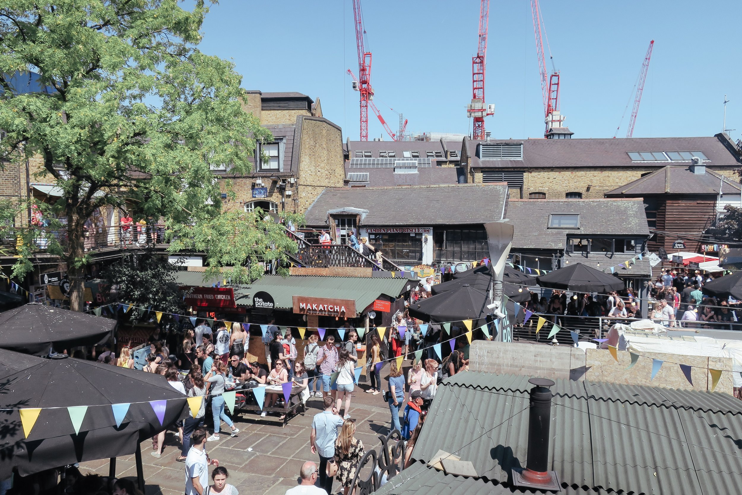 Day 17 London - Victoria station > Camden Market