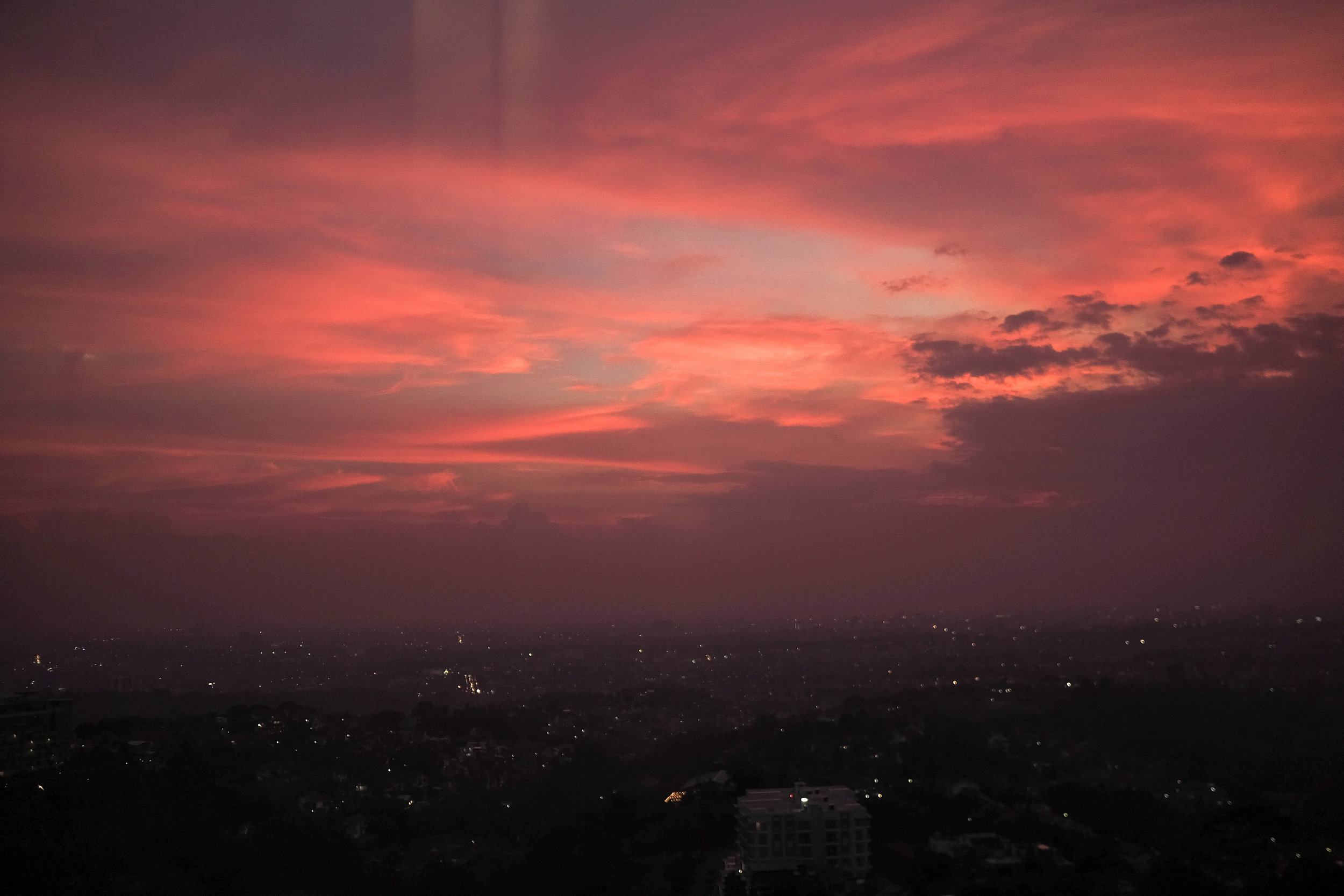 Sunset from Dasa Rooftop