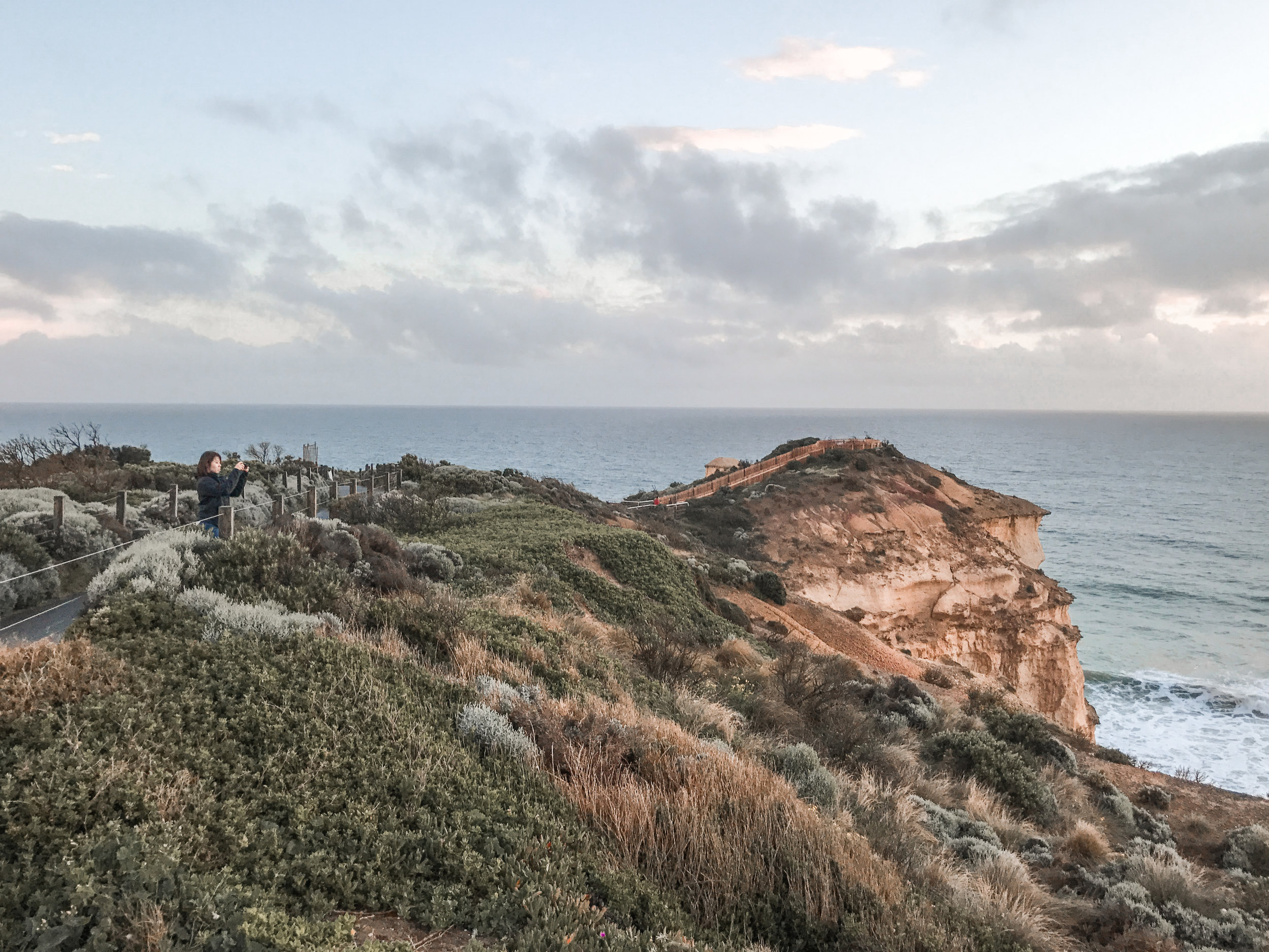 Path that leads to the Twelve Apostles Viewpoint