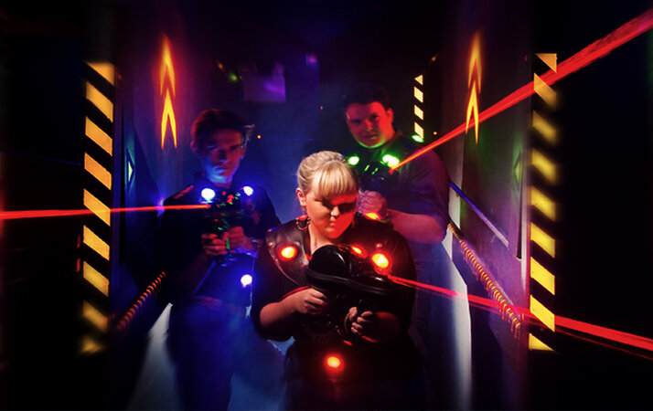 Laser Tag Home Kit x4