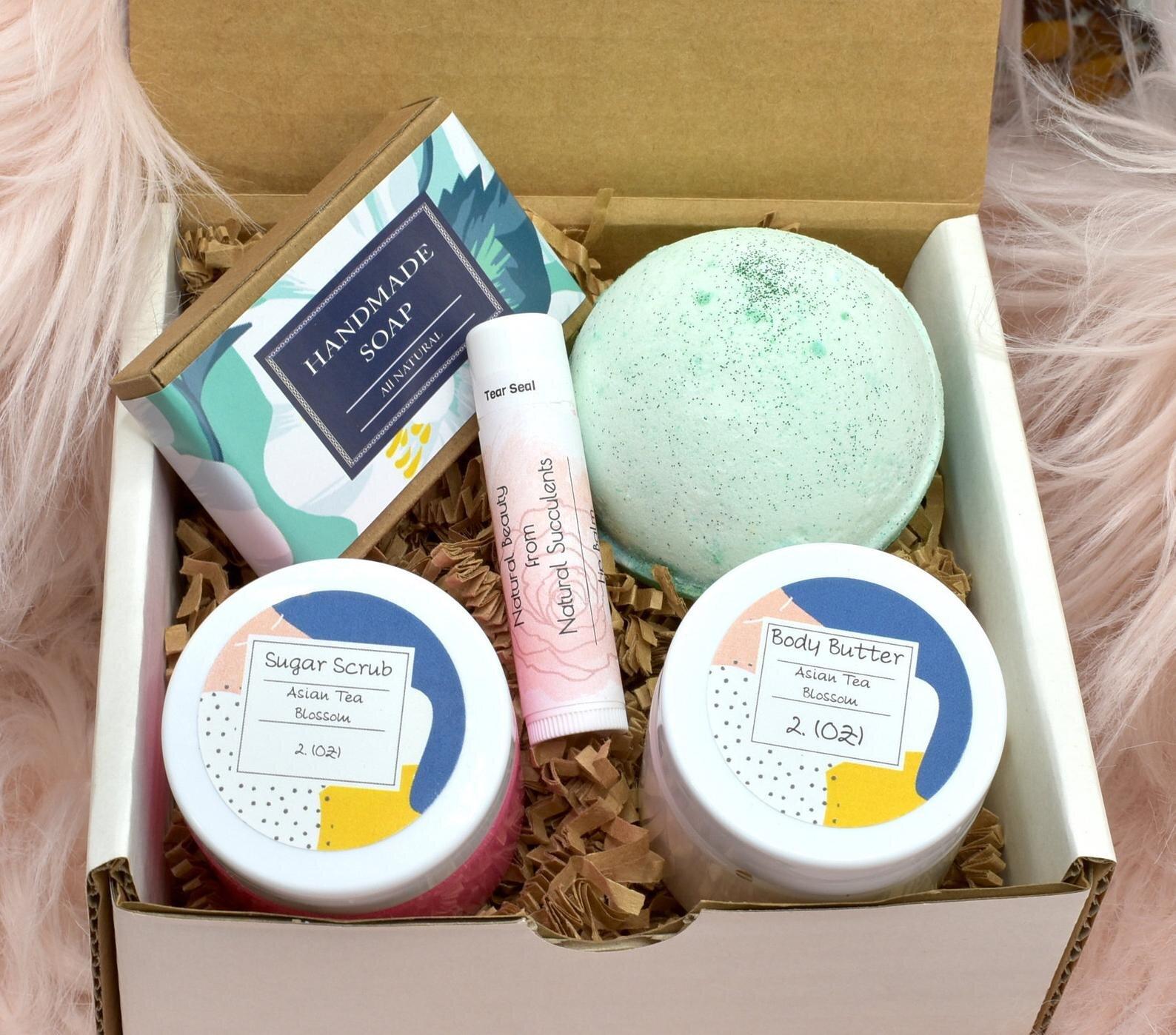 Hydrangea Rose Spa Box