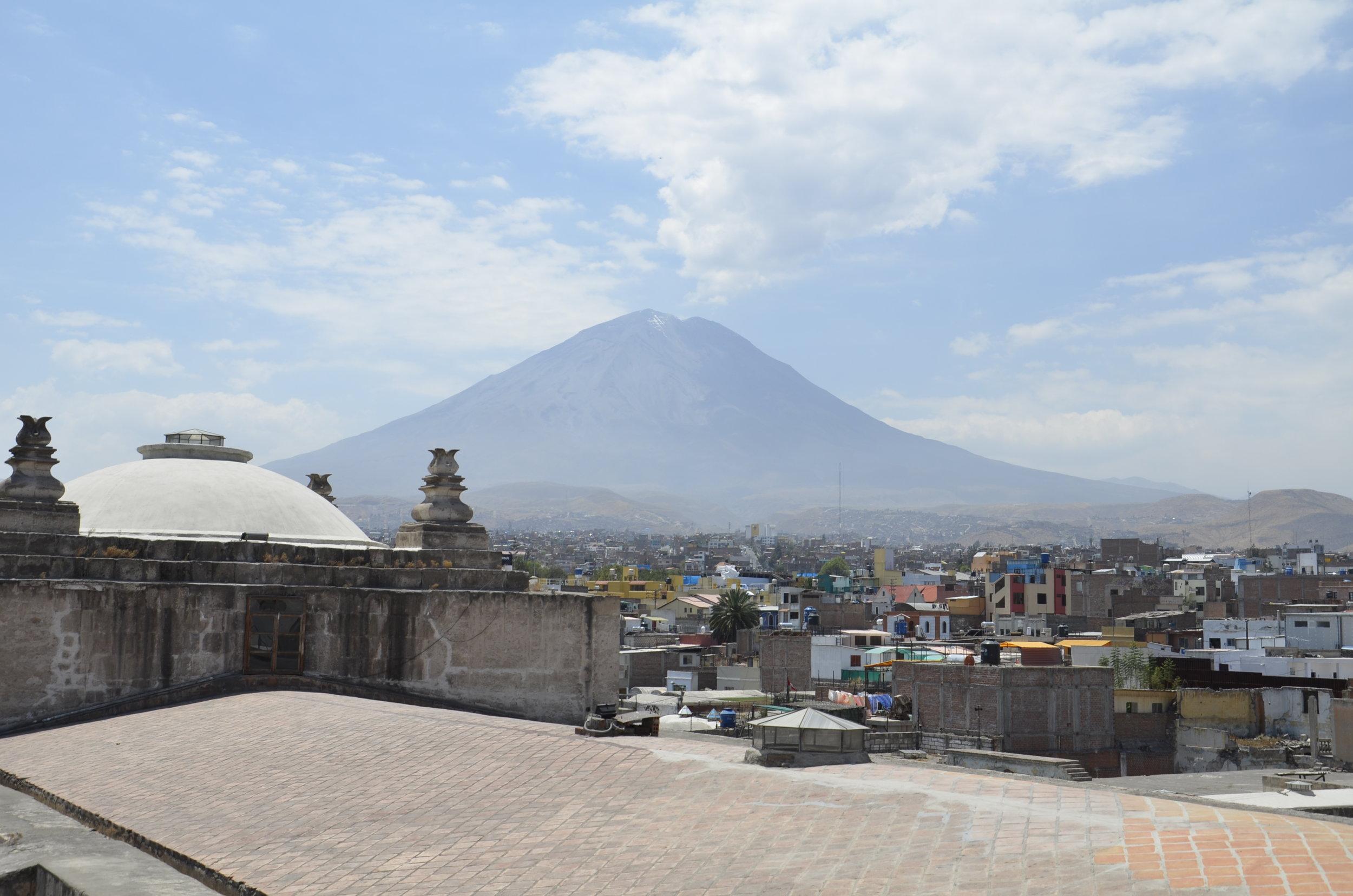 El Misti, the closest volcano to Arequipa