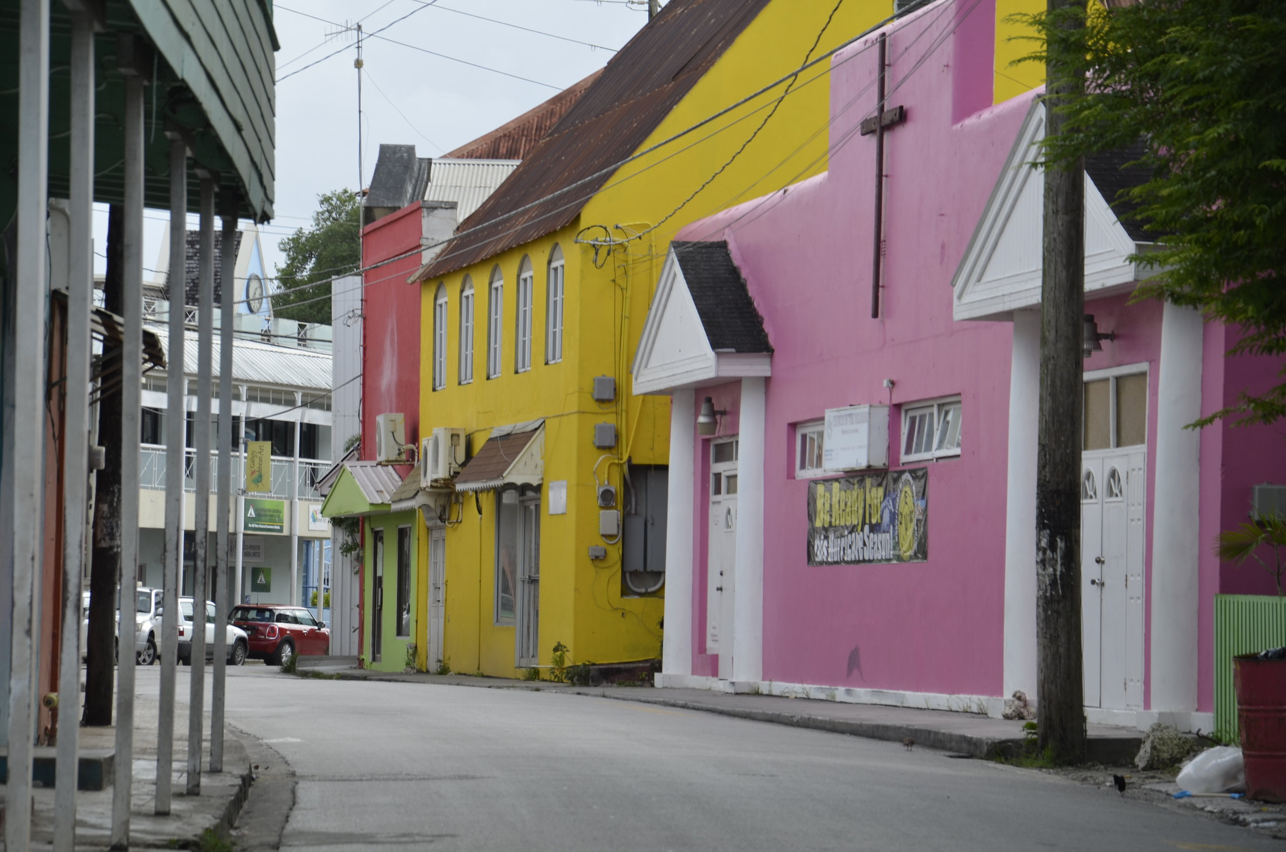 "Speightstown (sounds like ""Spice Town"" when the locals say it)"