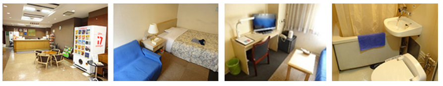Hotel - This is a budget hotel we cooperated and located in walking distance from our school.*It is acceptable for the person who stay less than 1 month.*All costs include utility charges.Arrangement Price: 15,000 JPY (paid to the school).Price of Stay:3,080 JPY / 1night18,480 JPY / 1weekDistance from school: 5-10min.