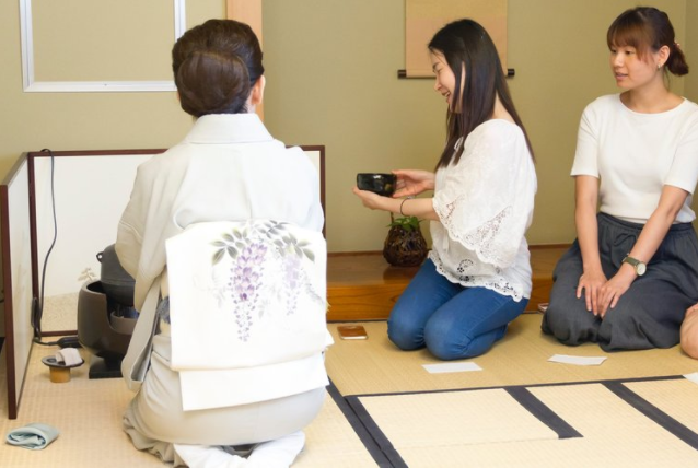 Traditional tea ceremony lessons - Learn proper Japanese etiquette. Receive a free tea ceremony set after your have completed the course!Learn more