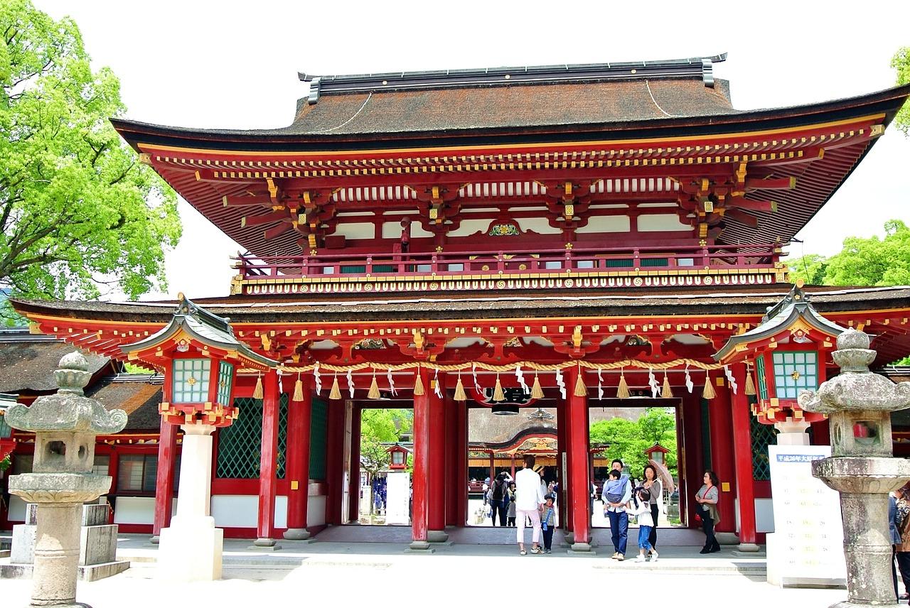 Dazaifu shrine in Fukuoka