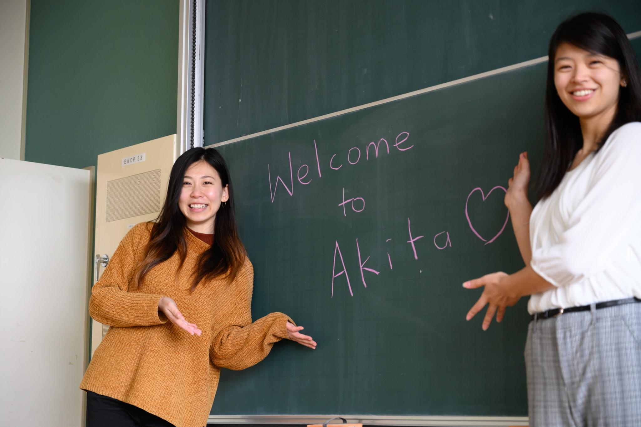 Left: Angela, Right: Sayaka
