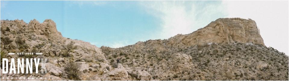 Hiking at Red Rock Canyon outside Las Vegas, NV