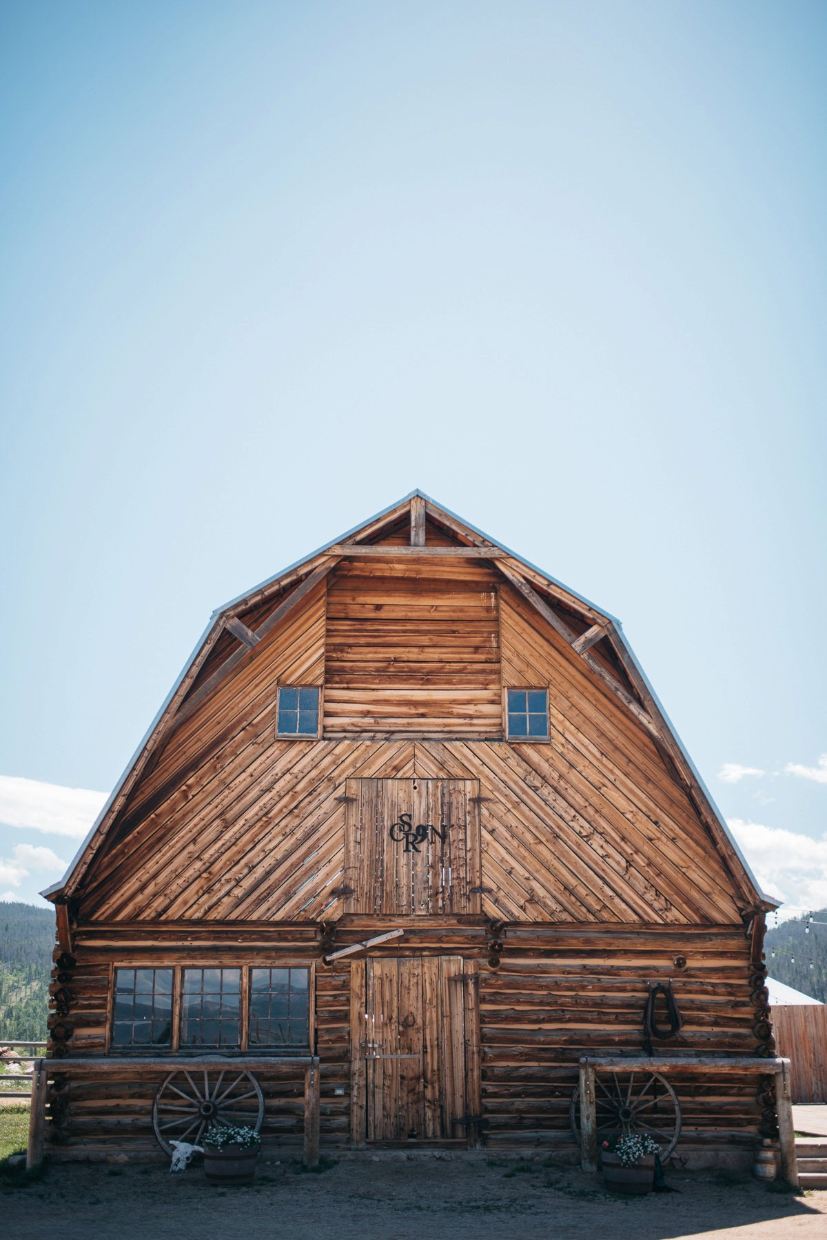 country side at strawberry creek ranch in Granby Colorado