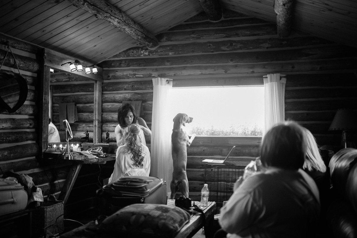destination wedding photographer at strawberry creek ranch in granby colorado