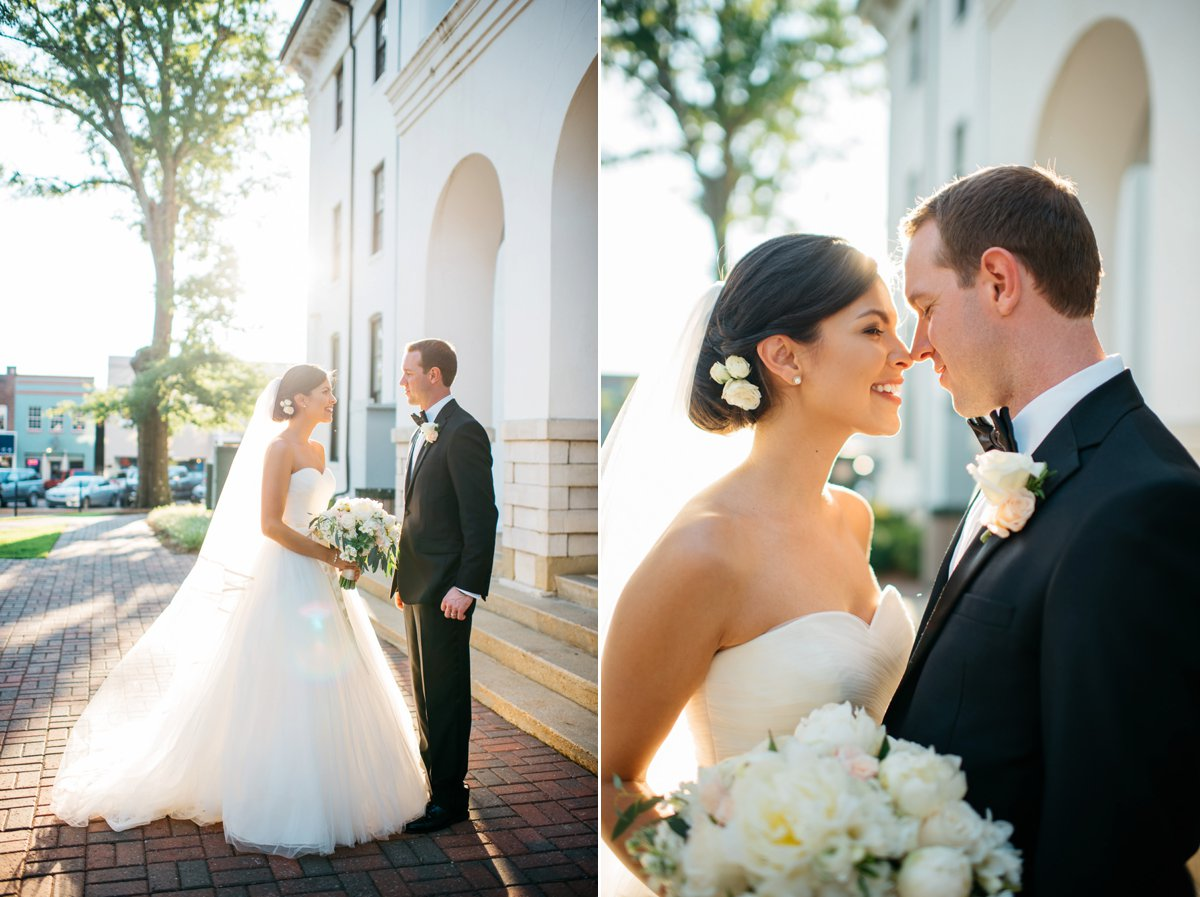 Mississippi Wedding Photography on the oxford square