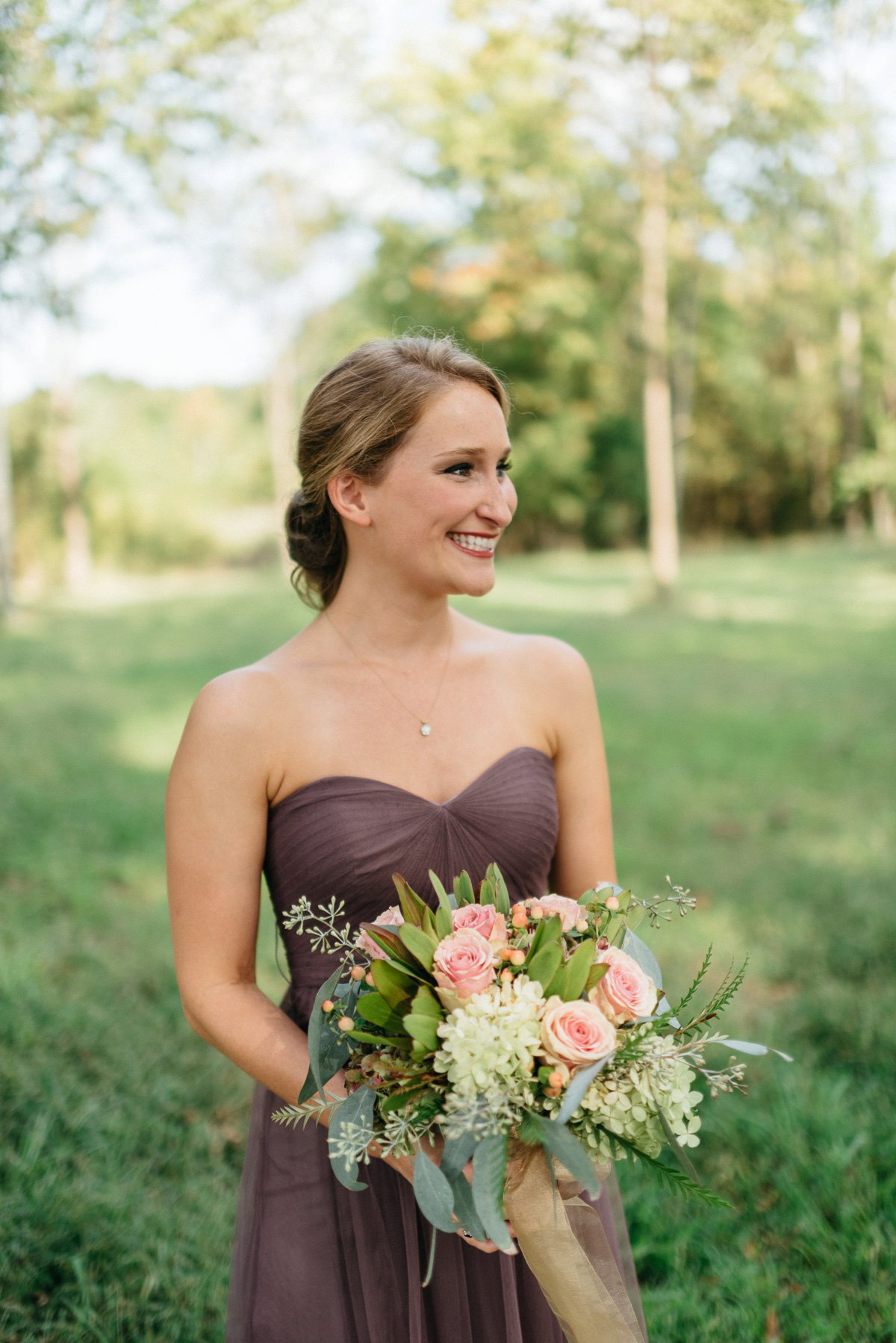 bridal wedding day portraits at southwind venue, mississippi wedding photography